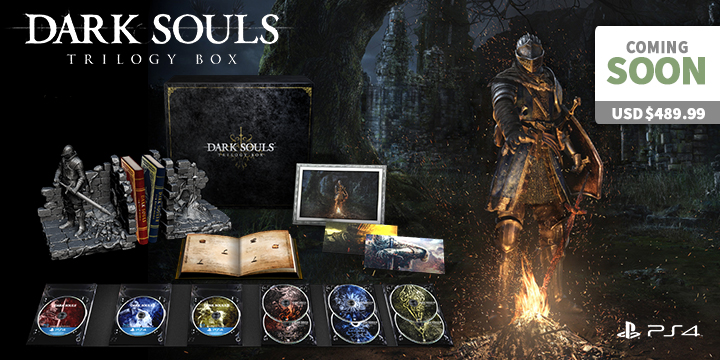 Book Cover Illustration Xbox One : Dark souls trilogy collection item discovery
