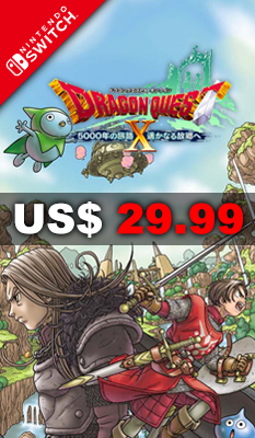 DRAGON QUEST X: 5000 YEAR JOURNEY TO A FARAWAY HOMETOWN - Square Enix