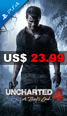 UNCHARTED 4: A THIEF'S END - Sony Computer Entertainment