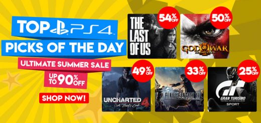 Play-asia.com, PlayStation 4, The Last of Us Remastered, God of War III Remastered, Uncharted 4: A Thief's End, Final Fantasy XV, Gran Turismo Sport Limited Edition, Persona 5, Horizon: Zero Dawn Complete Edition, Far Cry 5, Ultimate Summer Sale