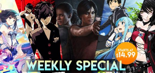 WEEKLY SPECIAL: Uncharted: The Lost Legacy, Omega Quintet, Tales of Berseria, & More!