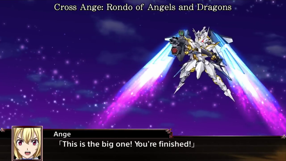 Super Robot Wars X - Cross Ange: Rondo of Angels and Dragons