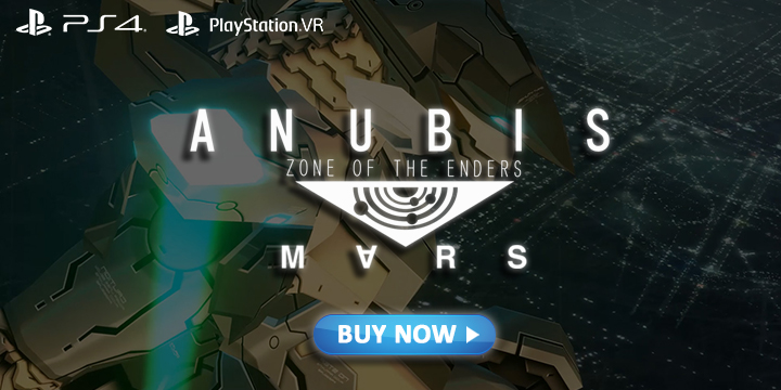 Anubis Zone of the Enders: Mars, Anubis Zone of the Enders Mars, Zone of the Enders The 2nd Runner MARS, PlayStation 4, PlayStation VR, Japan, Europe, release date, price, gameplay, features
