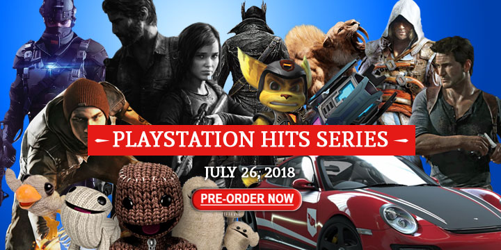 bloodborne, playstation hits, ps4, asia, sony computer entertainment, gameplay, features, trailer, driveclub, inFamous: Second Son, LittleBigPlanet 3, Ratchet & Clank, The Last of Us Remastered, Uncharted 4: A Thief's End, Metal Gear Solid V: The Definitive Experience, Assassin's Creed IV: Black Flag, Far Cry 4, Tom Clancy's The Division, Watch Dogs, Batman: Arkham Knight, Middle-earth: Shadow of Mordor, Mortal Kombat X