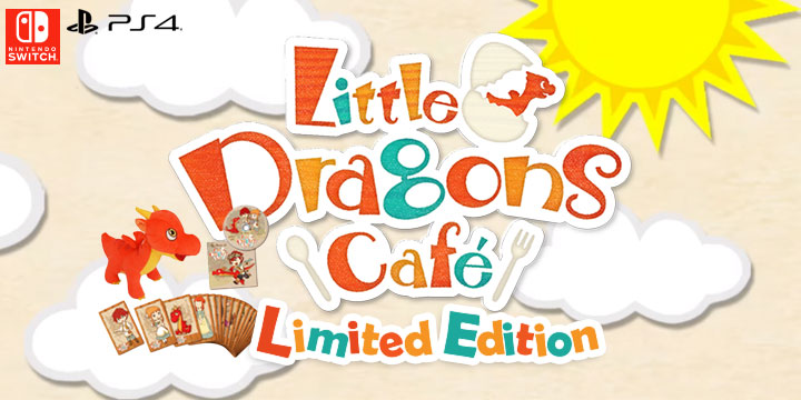 Little Dragons Cafe, game, PlayStation 4, Nintendo Switch, Asia, release date, price, gameplay, features