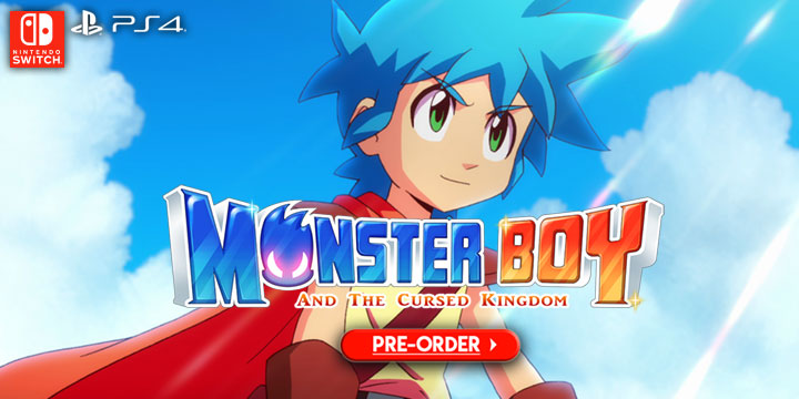 Monster Boy and the Cursed Kingdom, PlayStation 4, Nintendo Switch, US, North America, release date, gameplay, features, price, game, update