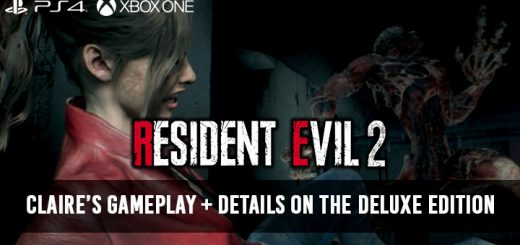 Resident Evil, Resident Evil 2, BioHazard RE:2, PS4, XONE, US, Europe, Japan, gameplay, features, release date, trailer, screenshots, Claire, updates, Deluxe Edition