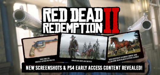 Red Dead Redemption, Red Dead Redemption 2, PS4, XONE, US, Europe, Japan, Australia, Asia, gameplay, features, release date, price, trailer, screenshots, Rockstar Games, Red Dead Redemption II, updates, Early Access, new screenshots