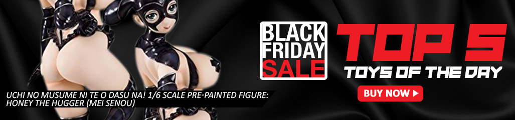 UCHI NO MUSUME NI TE O DASU NA! 1/6 SCALE PRE-PAINTED FIGURE: HONEY THE HUGGER (MEI SENOU), black friday sale, Bishoujo Figures