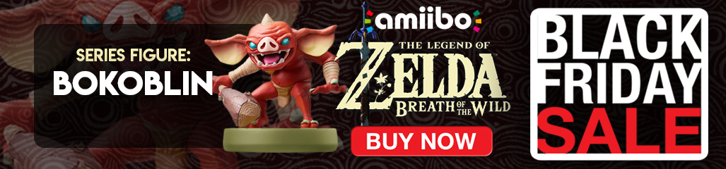 Black Friday, Accessories, The Legend of Zelda: Breath of the Wild, Amiibos, Nintendo