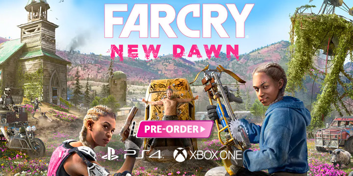 Far Cry, Ubisoft, Far Cry: New Dawn, PS4, XONE, PlayStation 4, Xbox One, US, gameplay, features, release date, price, trailer, screenshots