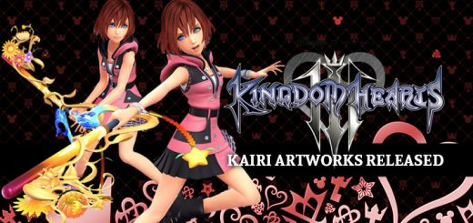 Kingdom Hearts III, Square Enix, PS4, XONE, US, Europe, Australia, Japan, update, Square Enix, KH3, Kairi, Kairi artwork
