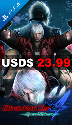 DEVIL MAY CRY 4 SPECIAL EDITION (GREATEST HITS) Capcom