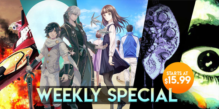 WEEKLY SPECIAL: Root Letter, Lost Sphear, Axiom Verge, & More!