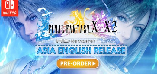 Final Fantasy X / X-2 HD Remaster, Nintendo Switch, Switch, Asia, English, release date, price, pre-order, gameplay, features