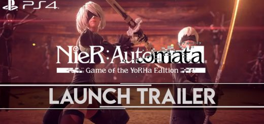 NieR: Automata, NieR: Automata [Game of the YoRHa Edition], Square Enix, PS4, PlayStation 4, updates, launch trailer