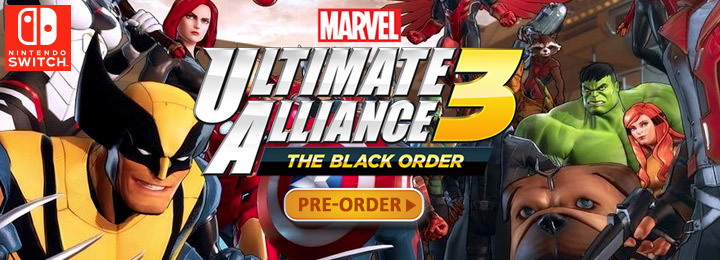 europe, us, north america, features, price, gameplay, pre-order, nintendo, nintendo switch, switch,Marvel Ultimate Alliance 3: The Black Order, release date, update, news