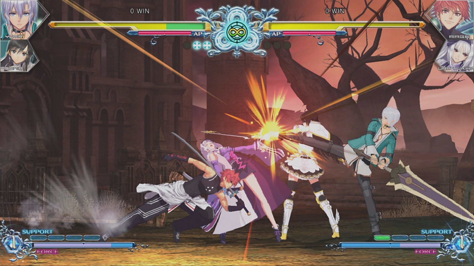 Blade Arcus Rebellion from Shining for PS4 & NS - Hail and