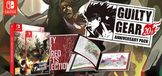 Guilty Gear, Guilty Gear [20th Anniversary Edition], Guilty Gear 20th Anniversary Edition, Guilty Gear XX Accent Core Plus R, Switch, Nintendo Switch, Europe, PQube, Guilty Gear 20th Anniversary Edition
