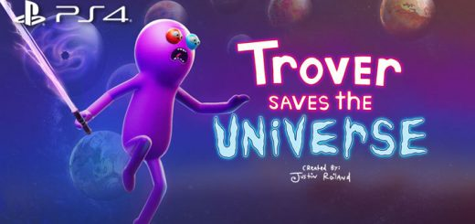 Trover Saves The Universe, PS4, PSVR, PlayStation 4, PlayStation VR, US, Gearbox Publishing