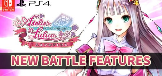 Atelier Lulua: The Scion of Arland, PS4, Switch, PlayStation 4, Nintendo Switch, release date, west, pre-order, price, gameplay, features, trailer, Koei Tecmo, news, update, battle system