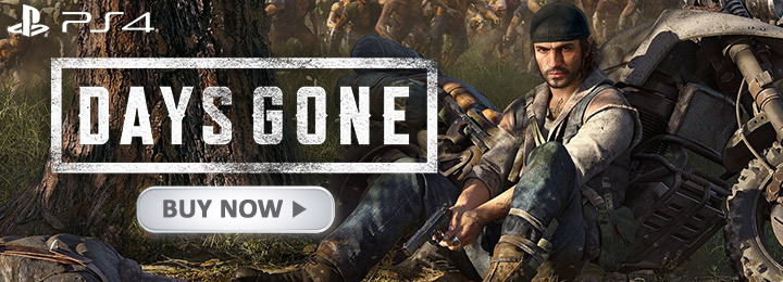 Days Gone, PS4, PlayStation 4, US, Europe, Asia, Japan, update, Version 1.05