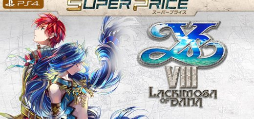 Ys VIII: Lacrimosa of DANA, Ys VIII: Lacrimosa of DANA (Super Price), Super Price, PS4, PlayStation 4, Japan, Falcom, イースVIII -Lacrimosa of DANA- (スーパープライス), Ys 8, YS VIII