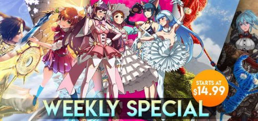 Fallen Legion: Rise to Glory, SNK Heroines: Tag Team Frenzy, Omega Labyrinth Z (Price Cut Version), Final Fantasy XV: Royal Edition, Super Chariot, Warriors Orochi, Penny-Punching Princess, Unravel Two, weekly special, nintendo switch, ps4, ps vita, NIS America, Nintendo, Square Enix, Maximum Games, Koei Tecmo Games, H2 Interactive, Electronic Arts