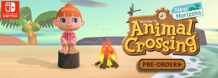 Animal Crossing, Animal Crossing: New Horizons, Nintendo Switch, E3 2019, US, North America, Europe, release date, gameplay, features, price, pre-order, Nintendo, trailer