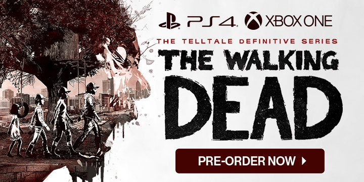 The Walking Dead: The Telltale Definitive Series, The Walking Dead, PS4, XONE, PlayStation 4, Xbox One, US, Europe, Skybound Games, Pre-order