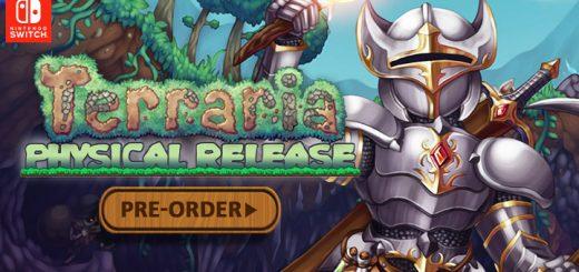 Terraria, Nintendo Switch, Switch, 505 Games, US, North America, Europe, release date, physical version, features, gameplay, price, pre-order