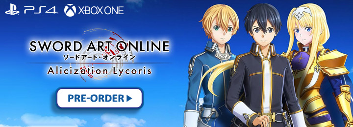 Sword Art Online: Alicization Lycoris, SAO: Alicization Lycoris, Bandai Namco, japan release date, gameplay, us, north america, features, ps4, playstation 4, xbox one,