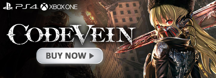code vein, ps4, playstation 4 ,xone, xbox one, Asia,japan, us, north america, australia, au, eu, europe, release date, gameplay, features, price, buy now, bandai namco