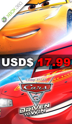 CARS 3: DRIVEN TO WIN Warner Home Video Games
