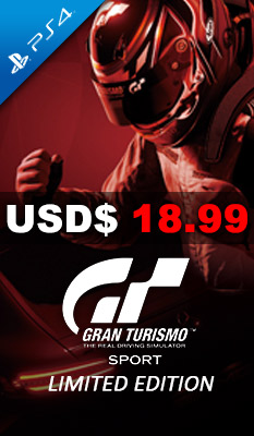 GRAN TURISMO SPORT [LIMITED EDITION] Sony Computer Entertainment