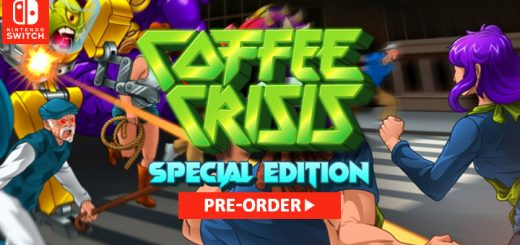 coffee crisis,nintendo switch, switch, europe, release date, gameplay, features, price,pre-order, special edition, mega cat studios, qubic games