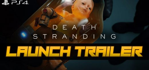 Death Stranding, PlayStation 4, North America, US, Europe, game, new teaser video, teaser video, news, update, Launch trailer