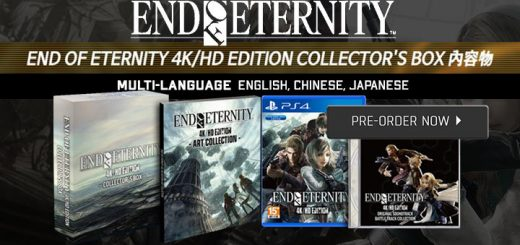 End Of Eternity 4K/HD Edition, ps4, playstation 4, asia, release date, gameplay, features, price,pre-order, collector's edition, standard edition, tri-ace, physical version