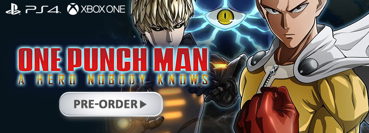 One Punch Man: A Hero Nobody Knows, xone, xbox one ,ps4, playstation 4, eu, europe, us, north america, au, australia, release date, gameplay, features, price, pre-order, bandai namco entertainment, spike chunsoft, one punch man game