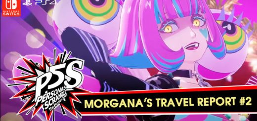 Persona 5 Scramble: The Phantom Strikers, atlus, japan, asia, release date, gameplay, features, price,buy now, ps4, playstation 4, morgana's travel report #2, new trailer, koei tecmo