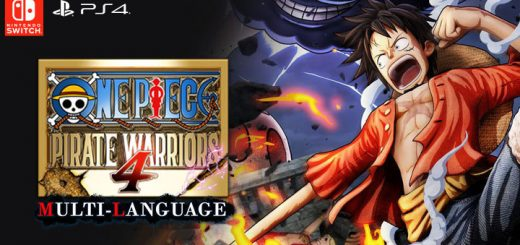 One Piece: Pirate Warriors 4, One Piece, Bandai Namco, PS4, Switch, PlayStation 4, Nintendo Switch, Asia, Pre-order, One Piece: Kaizoku Musou 4, Pirate Warriors 4