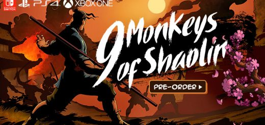9 monkeys of Shaolin,switch, nintendo switch,playstation 4, ps4,xone, xbox one, europe, release date, gameplay, features, price, pre-order now,sobaka studio, buka entertainment