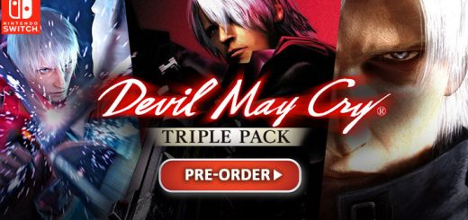 Devil May Cry Triple Pack, DMC, Devil May Cry, Devil May Cry 2, DMC 2, Devil May Cry 3, Devil May Cry 3 Special Edition, DMC 3, Switch, Nintendo Switch, Japan, Capcom, release date, gameplay, features, price, pre-order