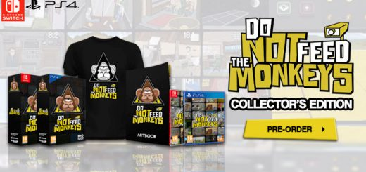 Do Not Feed The Monkeys [Collector's Edition],switch, nintendo switch,playstation 4, ps4, europe, release date, gameplay, features, price, pre-order now,badland games, fictiorama studios, alawar premium