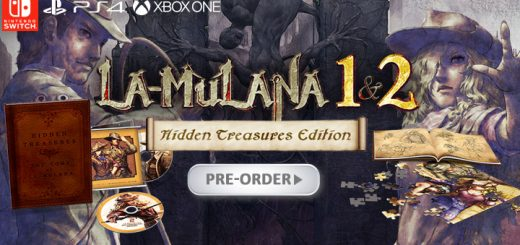 La-Mulana 1 & 2 Hidden Treasures Edition,, NIS America,Nigoro, ps4, playstation 4, north america, us, xbox one, xone, switch, nintendo switch, release date, gameplay, features, price, pre-order now, trailer