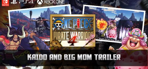one piece pirate warriors 4, bandai namco entertainment, ,us, north america, release date, gameplay, features, price,pre-order now, ps4, playstation 4,switch, nintendo switch, europe, japan, asia, kaido, big mom, character trailer