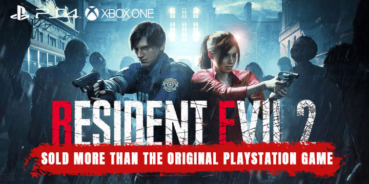 Resident Evil 2, PS4, XONE, PlayStation 4, Xbox One, gameplay, features, release date, price, trailer, screenshots, US, Europe, Australia, Japan, Asia, update, sales, units,