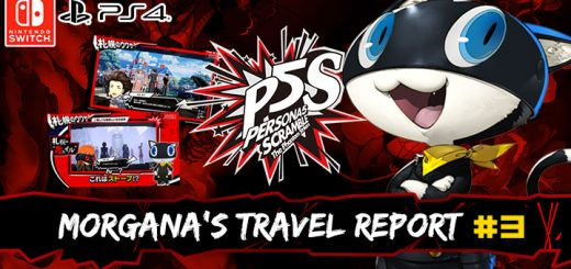 Persona 5 Scramble: The Phantom Strikers, atlus, japan, release date, gameplay, features, price, pre-order now, ps4, playstation 4,switch, nintendo switch, morgana's travel report 3