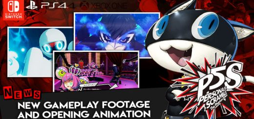 Persona 5 Scramble: The Phantom Strikers,atlus, koei tecmo, japan, release date, gameplay, features,ps4, playstation 4,switch, nintendo switch,new gameplay, 2 hours gameplay footage, opening animation