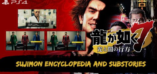 Yakuza: Like A Dragon, Yakuza Like A Dragon,Sega,asia, japan release date, gameplay, features,ps4, playstation 4,sujimon encyclopedia, substories